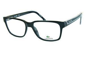Armação de óculos de grau Lacoste   Unissex   Óculos Quadrado Retangular 71f8a066c0
