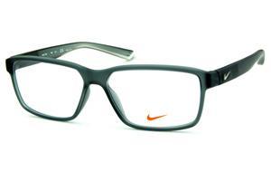 0ebaf90b0f948 Óculos Nike 7092 Live Free Cinza fosco com degradê nas hastes e logo de  metal