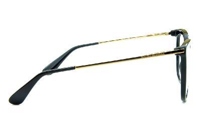... Óculos Dolce   Gabbana DG3259 Preto com hastes de metal dourado ... a72c4c8afa