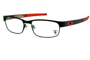 Modelos de óculos Oakley   Armação Metal Monel   Vermelho e3e5b3db3e