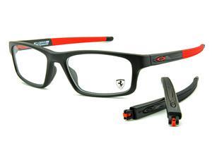 Óculos Oakley OX8049 Voltage Satin Black 55 preto fosco Edição Ferrari R   690,00 · Óculos Oakley OX8037 Crosslink Ferrari Acetato preto e vermelho  com haste ... ec86c7aee8