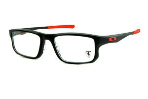 Óculos Oakley OX8049 Voltage Satin Black 53 acetato preto fosco Edição  Ferrari fa4639d0af