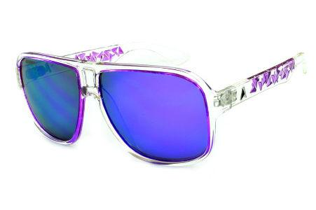 345006f18a5bf Modelos de Óculos de Sol   Óculos Quadrado Retangular   Transparente
