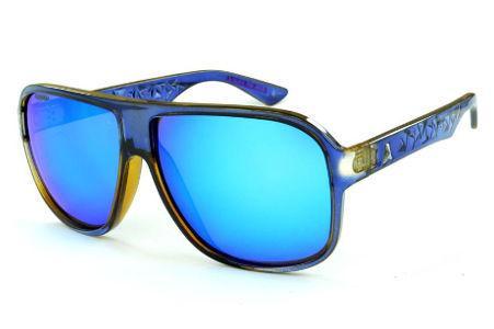 Óculos Absurda Calixto azul café com lente espelhada ff3b3f3ece