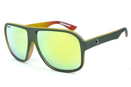 Óculos Absurda Calixto chumbo fosco com lente espelhada 035dfa817d