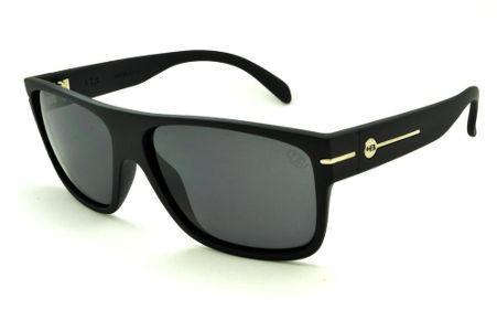 Óculos HB Would Matte Black preto fosco com lente cinza ef7de1140a