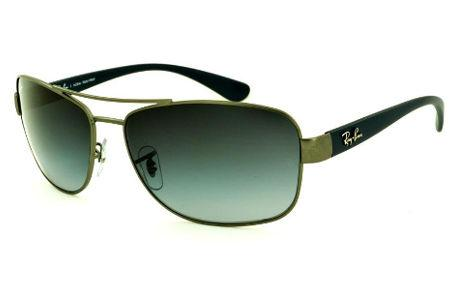 ÓCULOS RAY BAN   Óculos Azul   Armação Metal Monel   Óculos de Sol d2adba9f09
