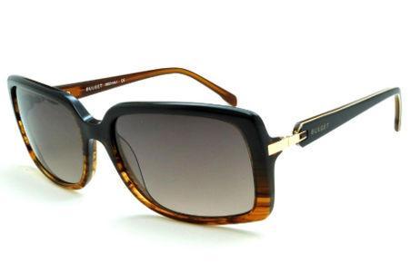 Óculos de grau e óculos de sol Bulget   Armação Acetato   Marrom   Feminino 51ad15b84b