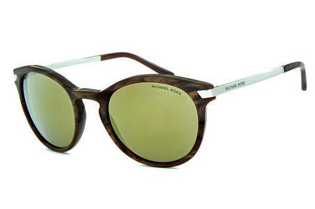 8badc48800dea Óculos de Sol Michael Kors MK2023 Adrianna 3 Marrom mesclado com espelho  bronze