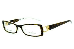 Óculos Ana Hickmann AH6127N branco com haste giratória onça tartaruga e  strass cristal 0cebbdd980