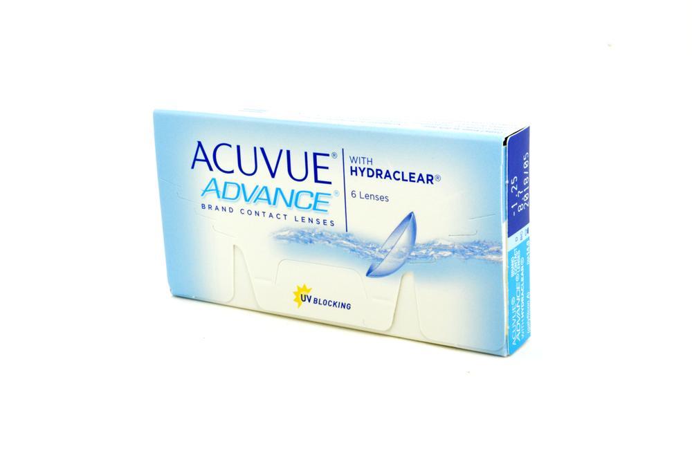 Lente de contato Acuvue Advance Hydraclear 6 lentes esférico +0,50 e7c0da1e35