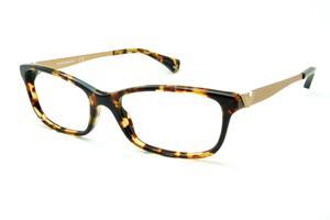 Óculos Emporio Armani EA3031 demi tartaruga efeito onça em acetato com  haste em metal 51d316f8f2