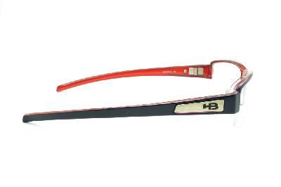 1a70a88bb85bf ... Óculos HB Blue Red - Acetato azul e vermelho com fio de nylon ...