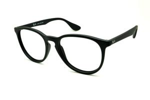 Óculos Ray-Ban preto fosco com escrita branca 3bae68bdf5